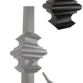 Кованые элементы лестниц с заводской покраской   Все для лестниц