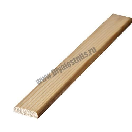 Планка подбалясенника из сосны | Все для лестниц