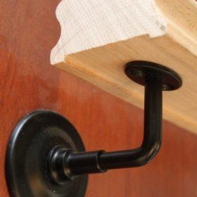 Кронштейны крепления поручня к стене | Все для лестниц