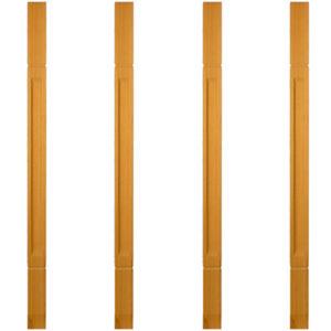 Балясины из лиственницы для лестницы | Все для лестниц