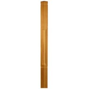 Столб начальный из лиственницы | Все для лестниц